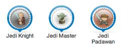 Jedi badges